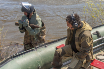 Сапёры обезвредили боекомплект танка