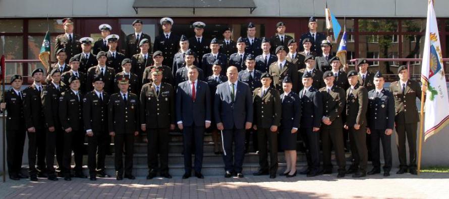Национальную академию обороны закончил 41 кадет