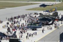 В Лиелварде отметили 25-лет восстановления ВВС