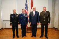Встреча с командующим Национальной гвардией США