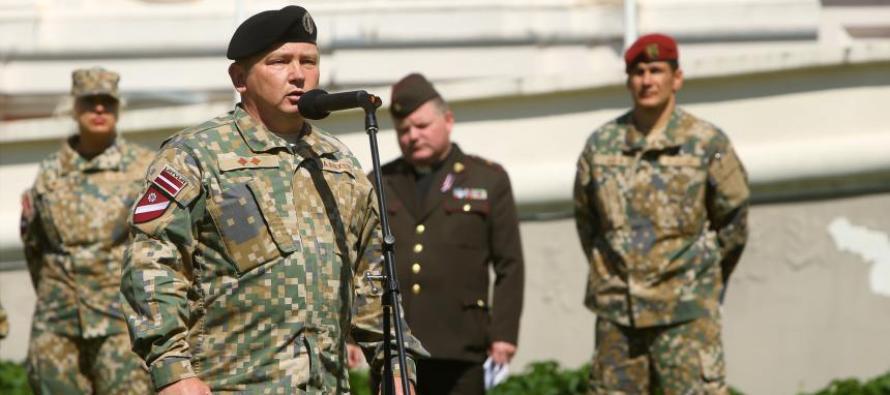 Новый командир 4-й бригады Земессардзе