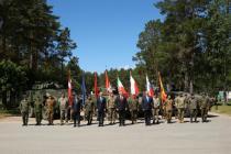 Боевую группу НАТО встретили в Адажи