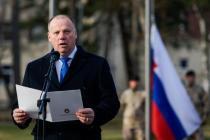 Министры обороны Латвии, Литвы, Эстонии в США