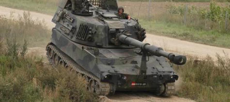 НВС будут готовить артиллеристов для гаубиц 155 мм