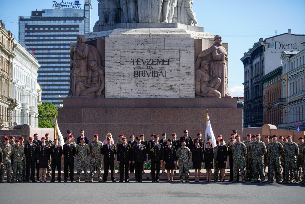 Военной полиции Латвии 20 лет