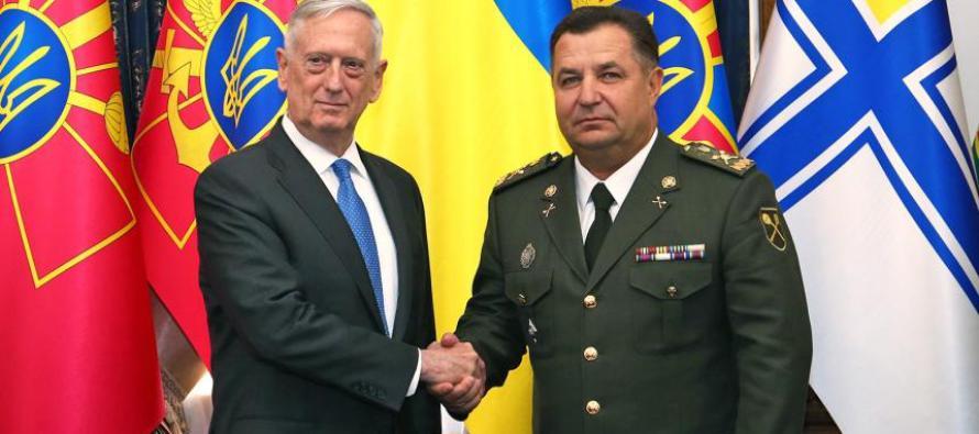 Встреча в министерстве обороны Украины