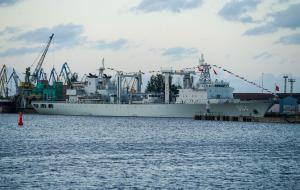 Корабли китайского ВМФ в Риге