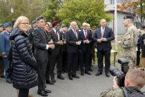 Визит министров обороны в Адажи
