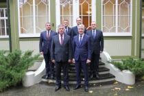 Встреча руководителей погранохраны Латвии и Белоруссии