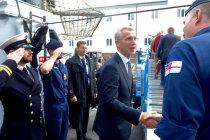 Генсек НАТО посетил ВМБ ядерных сил