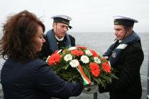 Памятное мероприятие в Даугавгриве
