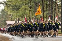 В Адажи прошёл «Забег единства» военнослужащих
