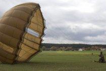 Прыжки с парашютом на учениях Swift Response 17-2