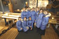 Воспитаницы Пансиона МО стали гостями на «Авроре»