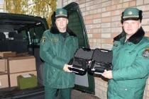 Латвийские пограничники получат новые пистолеты