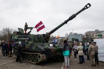 Оборонный бюджет Латвии достигнет 2% от ВВП