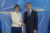 Генсек похвалил Эстонию за приверженность НАТО