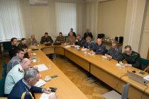 Встреча военных атташе в Минобороны Латвии
