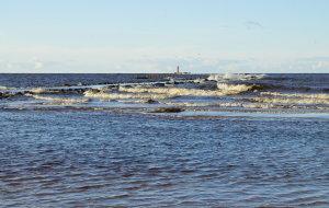 На Мангальсале прибывает вода
