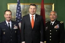 Визит в Латвию Национальной гвардии штата Мичиган