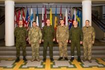 Визит делегации Генштаба вооружённых сил Украины