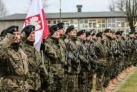 Польских солдат проводили на службу в Латвию