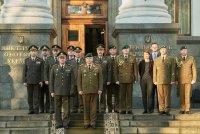 Литовский командующий с визитом на Украине