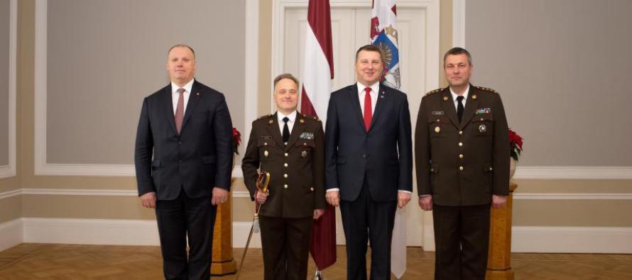 Генералов в Латвии стало на одного больше