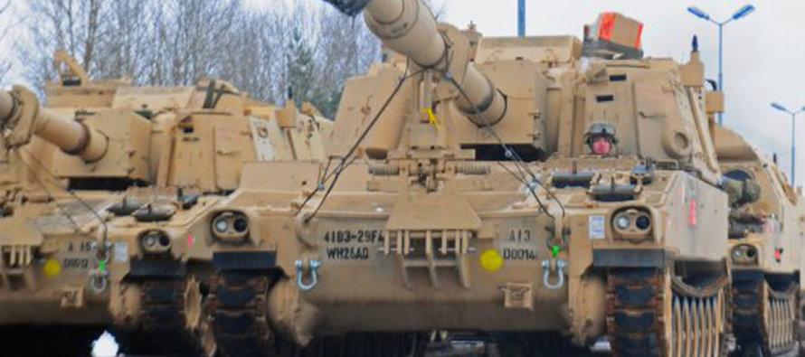 Остановлен конвой гаубиц для армии США