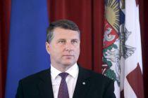 Поздравление президента Латвии с Новым 2018 годом