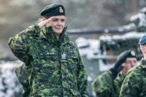 Генерал-губернатор Канады посетила базу в Адажи