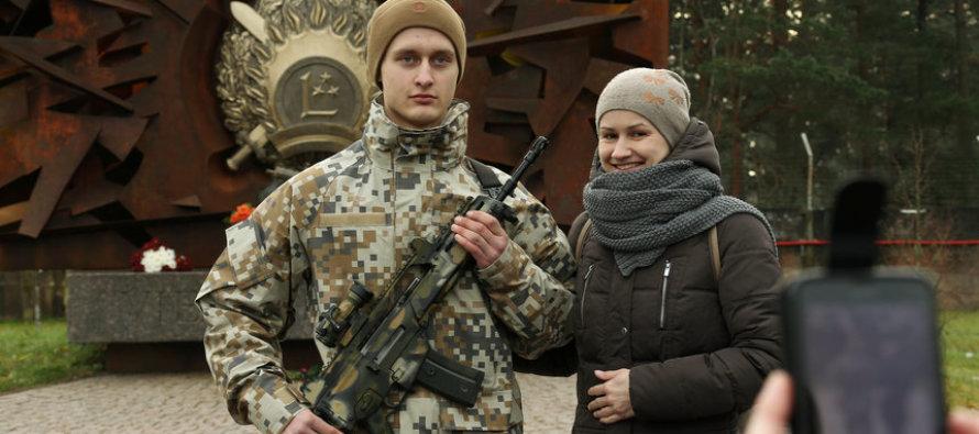 Германские винтовки для вооружённых сил Латвии