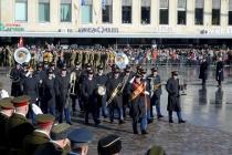 Эпизоды с парада к 100-летию Эстонской Республики