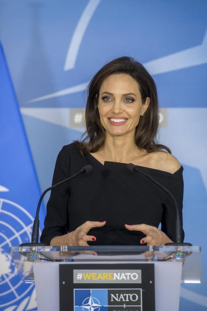 Визит Специального посланника ООН Анджелины Джоли в НАТО