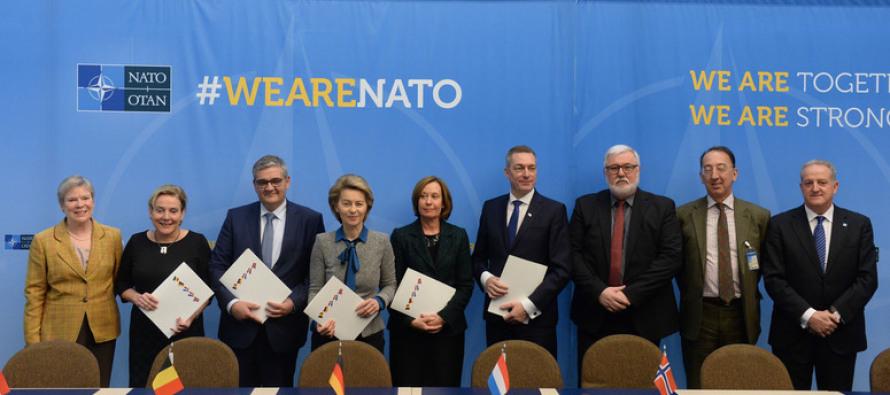 Бельгия присоединилась к созданию воздушной дозаправки