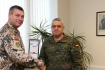 Визит командующего сухопутными силами Испании в Латвию