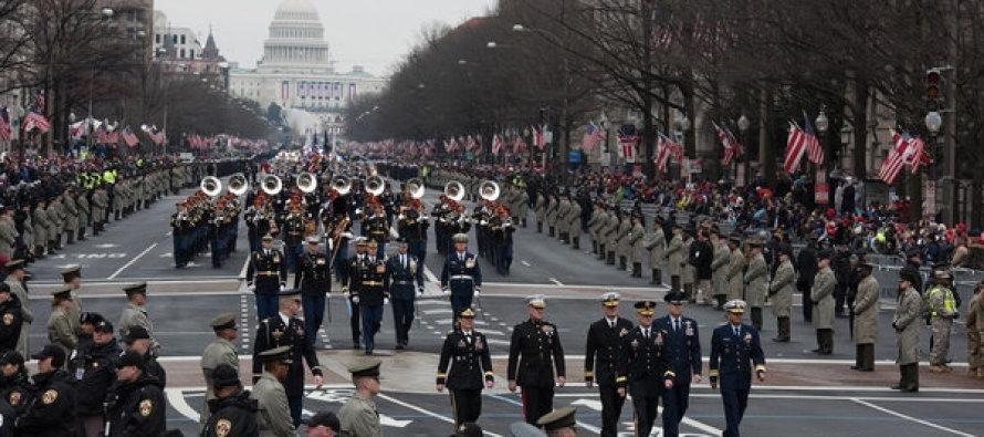Вопрос, ответ: 89 процентов сказали нет военному параду Трампа