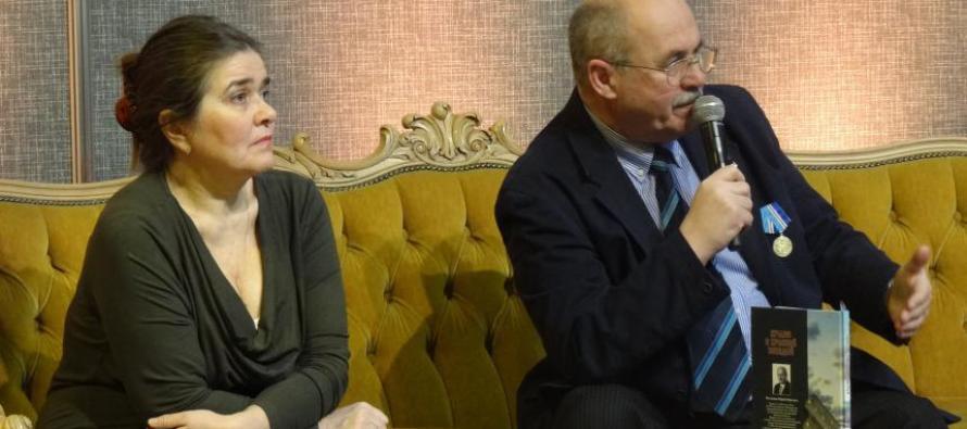 Встреча с читателями на книжной выставке на Кипсале