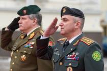 Визит командующего армией Грузии в Литву