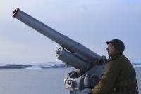 Пушку Лендера образца 1914 года испытали на Северном флоте
