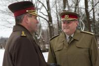 Визит командующего Силами Обороны Эстонии в Латвию