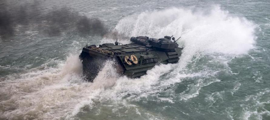 Учения военно-морских сил Spring Storm 2018 («Весенний шторм»)