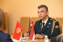 Военный атташе Черногории акредитован в Латвии
