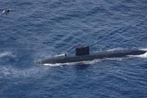 Британская подводная лодка прибыла в Арктику
