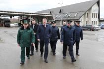 Президент Латвии посетил государственную границу