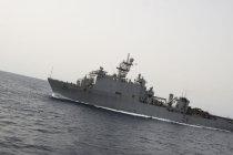 Десантный корабль-док USS Oak Hill (LSD 51)