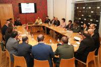 Встреча в Министерстве обороны Латвии