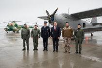 Открытие здания аэродромных операций и службы спасения