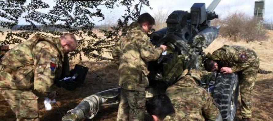 США и союзники провели крупные артиллерийские учения