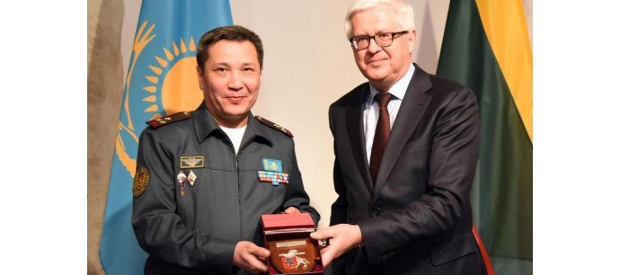Военный атташе Казахстана аккредитован в Литве